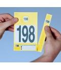 300 Étiquettes Véhicules Numérotées