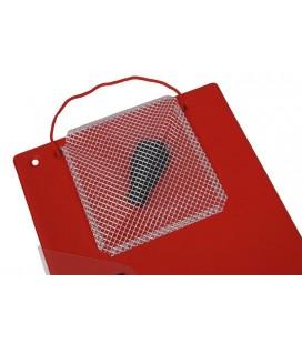 10 Porte-Documents Jumbo Couleur-Rouge