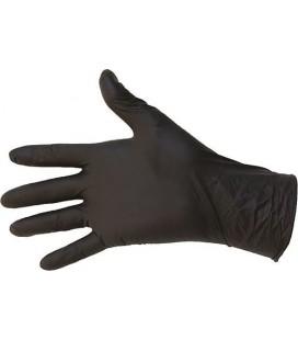 100 Gants Nitrile Noir