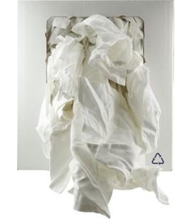 Chiffon Blanc 100% Coton 10Kg