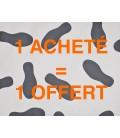 500 Protège-Tapis en Papier sur Film Plastique + 500 Offerts