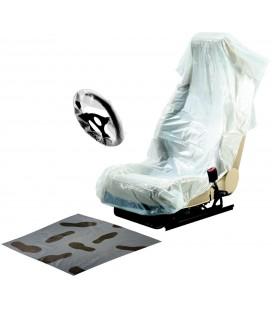 250 Kits de protection 3 En 1 - Siège + Tapis + Volant