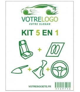 Kits de Protection Habitacle 5 En 1 Personnalisés à votre image et logo