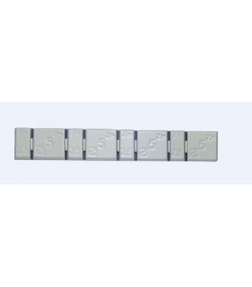 100 Masses Adhésives Extra Minces - Zingué Plastifié pour Jante Alu