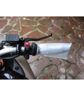 40 Manchons de Protection pour Poignée de Moto