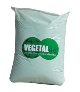 Absorbant végétal densifié - VEGETALite - 30 litres