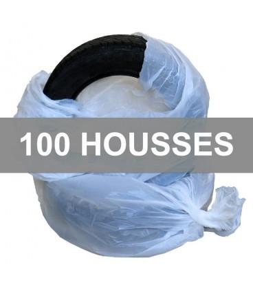 Destockage 100 Housses de Stockage de Roues - Pneus imprimées