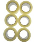 6 Adhésifs d'Emballage PPS Transparent