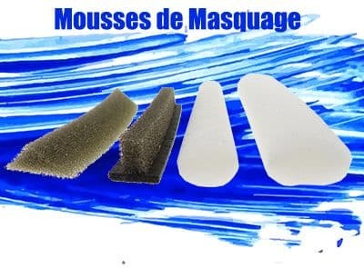 mousses de masquage
